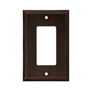 allen + roth Oil Rubbed Bronze Decorator Rocker Wall Plate Z1838 R