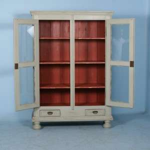 Antique Swedish Armoire/China Cabinet |