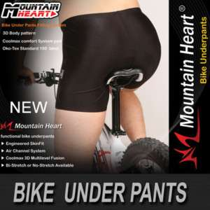 New mens Cycling Bike 8kinds of Bicycle PADDED under SHORTS S~3XL