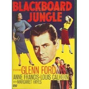 Blackboard Jungle: Glenn Ford, Anne Francis, Vic Morrow