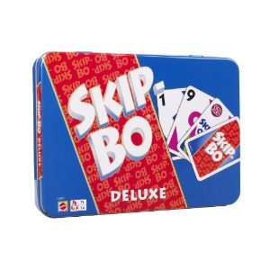 Mattel   Skip bo Deluxe: Toys & Games