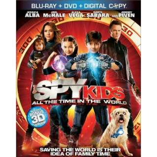 Spy Kids All the Time in the World (3 Discs) (Includes Digital Copy