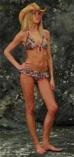 Back Flips Realtree Pink/Brown Camouflage Bikini Swimsuit