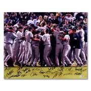 MLB   Boston Red Sox   2007 World Series Celebration   Team Sig… MLB