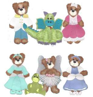 Ultimate Tear Bear & Paper Piecing Patterns SVG, KNK, WPC Cutting