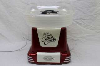 Electrics PCM 805 Retro 50s Diner Style Cotton Candy Maker Machine