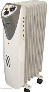 NX2 Dayton Electric Oil Filled Radiator Heater With Built In