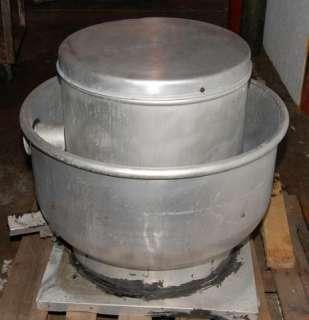 Dayton Belt Drive Centrifugal Exhaust Hood Fan, 3/4 HP