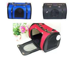LARGE Pet Carrier Dog Cat Tote Purse Handbag