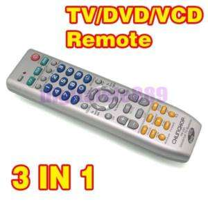 Universal TV DVD VCD Remote Control Controller 3 in1