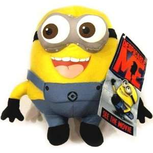 : Despicable Me Deluxe 8 Inch Plush Figure Minion Jorge: Toys & Games