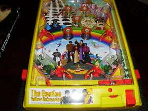 BEATLES NEW YELLOW SUBMARINE ELECTRONIC PINBALL MACHINE GREAT BEATLES