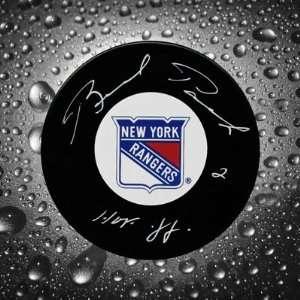 Brad Park New York Rangers Autographed Puck
