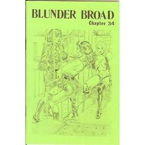 Broad Chapter 34 (Blunder Broad, 34) Turk Winter, Eric Stanton Books