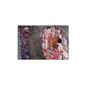 Gustav Klimt Death And Life by Gustav Klimt Canvas Art