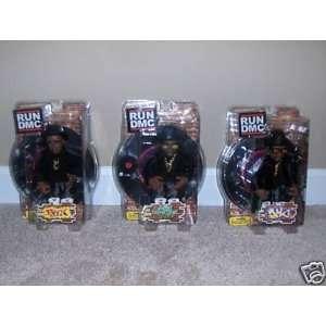 RUN DMC Action Figures Run, Dmc, Jam Master Jay SET of 3 Toys & Games