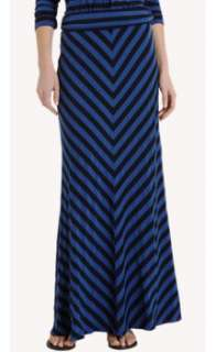 Ella Moss Long Striped Skirt