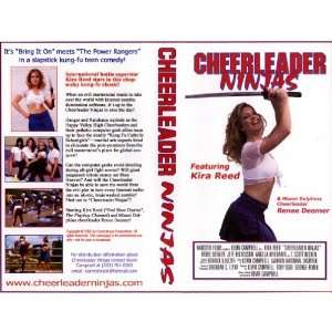 Cheerleader Ninjas [VHS] Kira Reed, Kevin Campbell Movies & TV