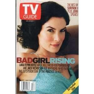 2001 (BAD GIRL RISING LARA FLYNN BOYLE): TV GUIDE MAGAZINE: Books