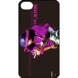 Lil Wayne iPhone 4 iPhone4 Black Designer Hard Case Cover Protector