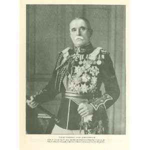 1922 Print British Field Marshal Lord John French
