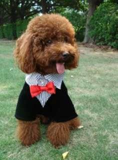 Pet/Dog Apparel Shirt Tuxedo Suit Costume Wedding Cloth