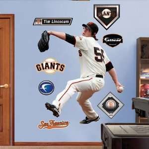Tim Lincecum San Francisco Giants Fathead NIB