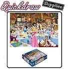 1000 Piece Cartoon Jigsaw Puzzle Disneys Tea Room Party