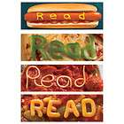 12 FOOD THEMED BOOKMARKS PARTY BOOK CLUB HOT DOG PIZZA