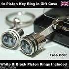 Vauxhall Astra Corsa Insignia Vectra Zafira Logo Piston Key Ring Fob
