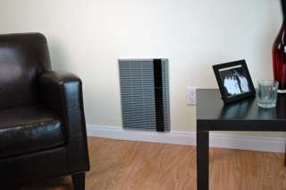 Mark HT1502SS 120V Electric Wall Heater With LED Touch Screen