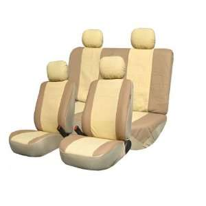 FH PU001114 Classic Synthetic Leather Car Seat Covers