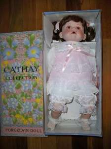 Cathay Collection Porcelain Doll 20