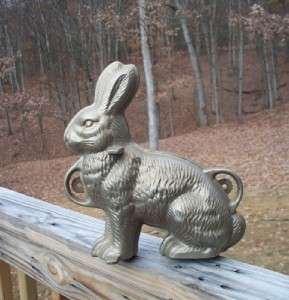 Original Griswold Erie PA Cast Iron Rabbit Cake Mold 862 863