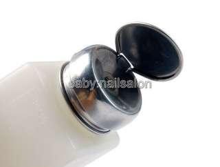 Pump Dispenser For Nail Art Polish Remover 200ML Bottle #436