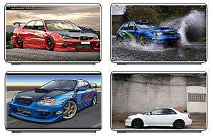 Cars Subaru WRX Laptop Netbook Skin Decal Cover Sticker