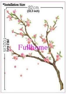 Flower Tree Mural Decals Wall Sticker Decor J30