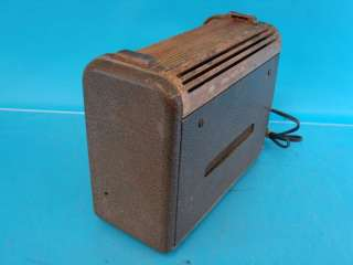 Philco 46 350 Antique Tube Radio Deco Roll Top Wood Case Repair