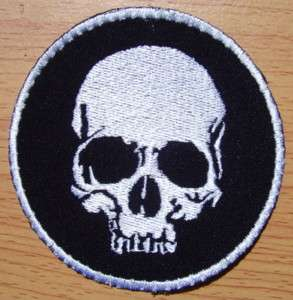 SKULL DEATH HEAD NAVY SEAL Swat paintball Guns on Patch