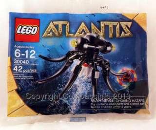 NEW Lego ATLANTIS 30040 Octopus Red Key Ltd
