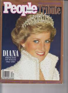 Princess Diana of Wales 1961 1997 People Weekly Tribute Fally 1997