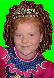 Wig Guide and Colour Chart items in Georgielocks Irish Dance Shop