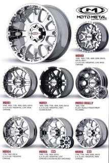 Moto Metal gallery items in Wheel Kreations