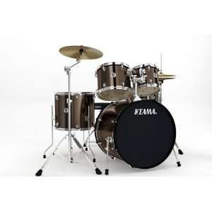 Tama Swingstar Standard 5 piece Drum Set   Bronze Mist